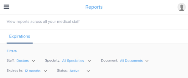 Reporting Feature